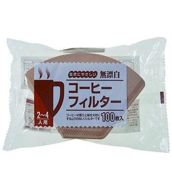 【Pearl Horse】日本寶馬牌日本製 扇型 / 錐形 咖啡濾紙_100枚入
