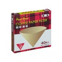 【Pearl Horse】日本寶馬牌錐型咖啡濾紙_40枚*2盒入
