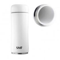 【SMF 骨瓷保溫杯】蘑菇款 (鮮乳白) _350ml